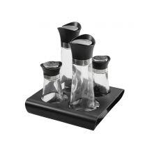 Menagen Set Essig, Öl und Salz, Pfeffer